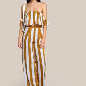 Other - Two Piece Striped Set